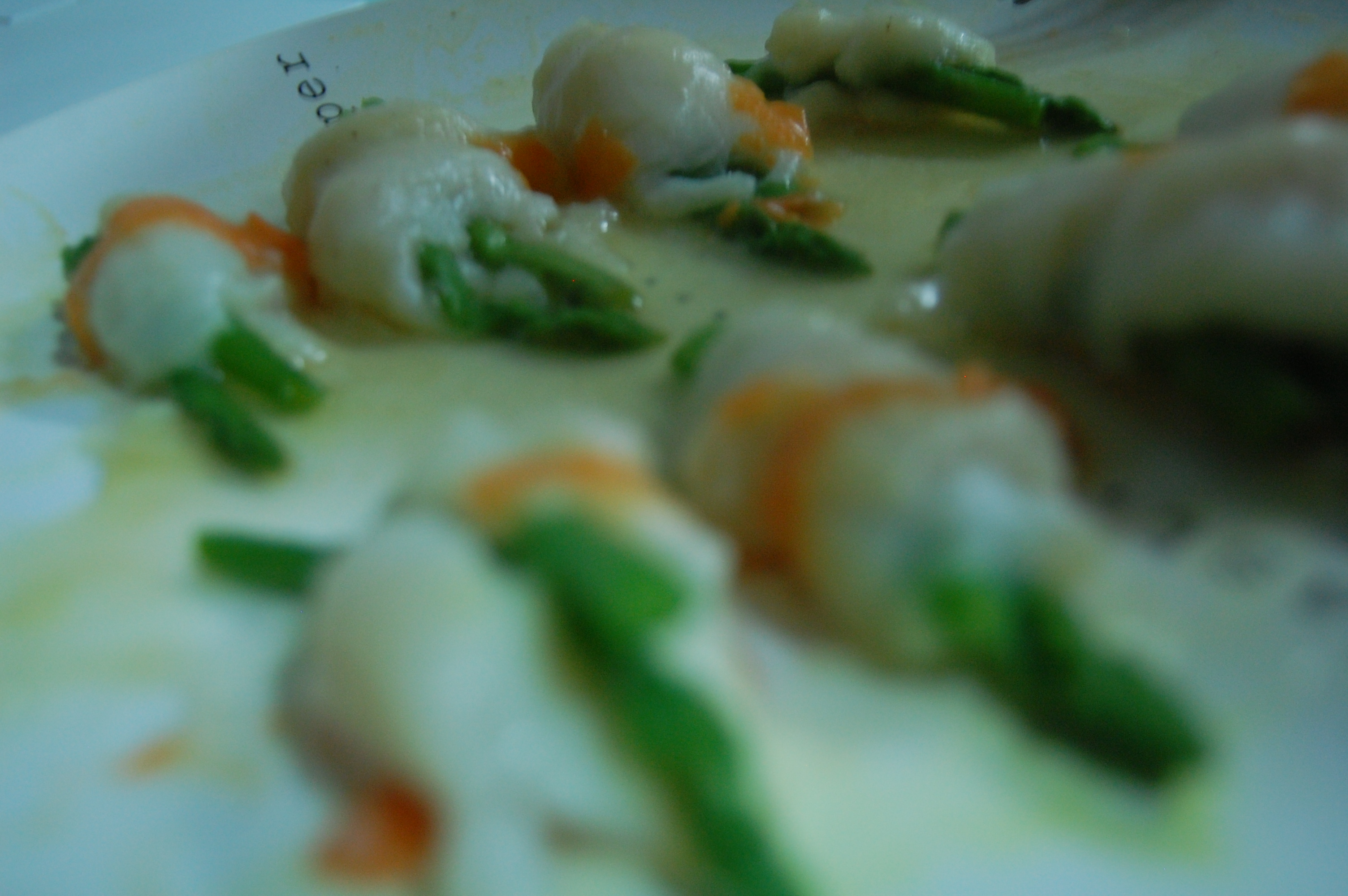 Steamed fish rolls with asparagus recipe | Easy Chinese Food Recipes