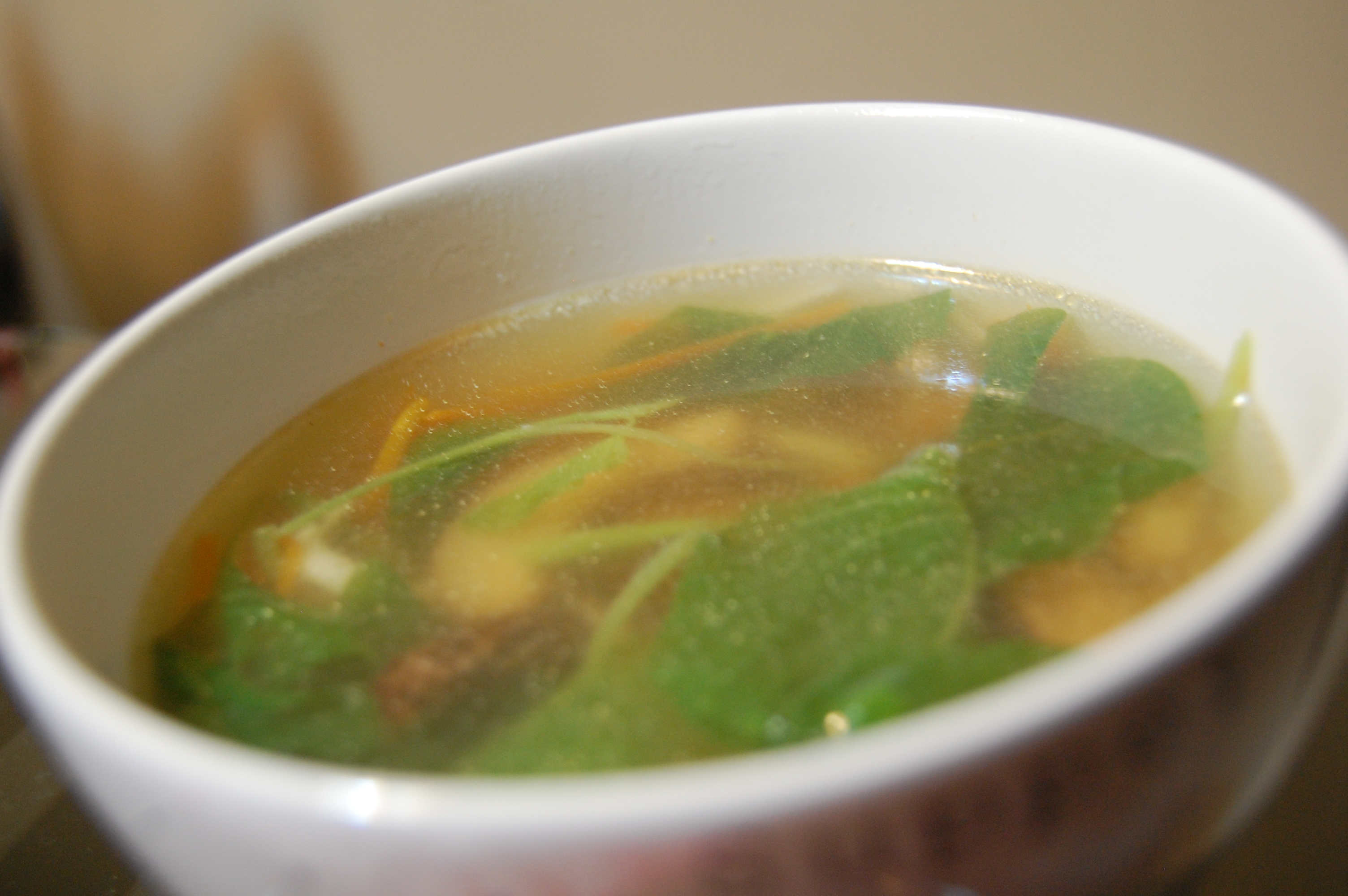 silver fish and amaranth chinese soup recipe easy